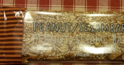 Peanut/ sesame bar