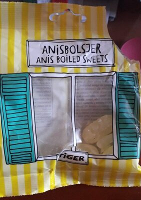 Anis boiled sweets