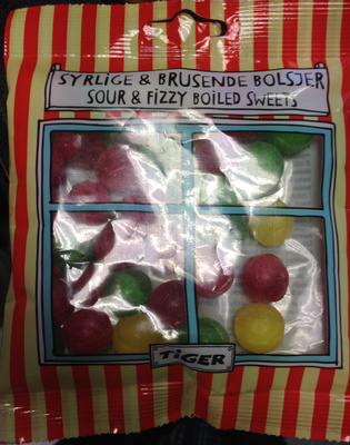Sour & fizzy boiled sweets