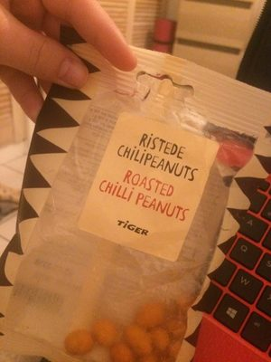 Roasted chilli peanuts