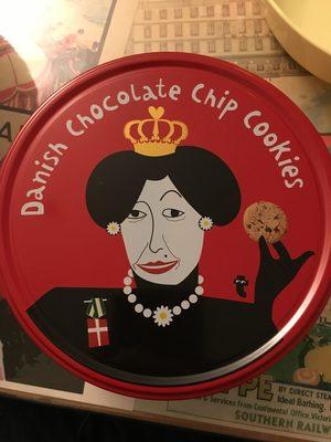 Danish chocolate chip cookies