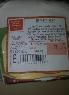 Brie roitelet