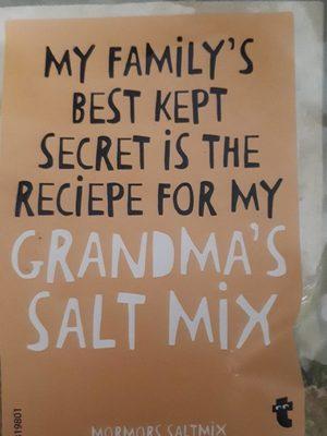 Grandma' s salt mix