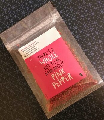 Whole pink pepper