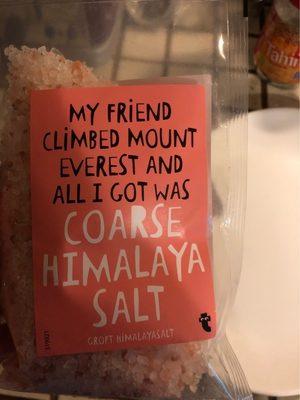 Coarse himalaya salt