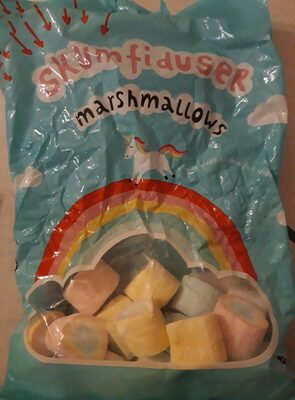 Marshmallows licorne