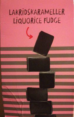Liquorice Fudge