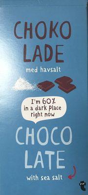 Chocolate with sea salt