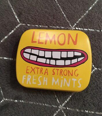 Lemon extra strong Fresh mints