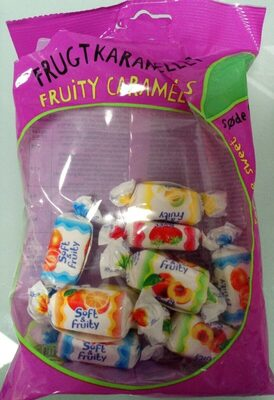 Fruity caramels