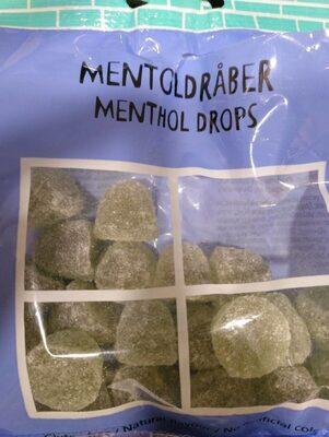 Menthol drops