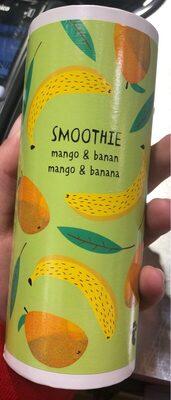 Smoothie banane mangue