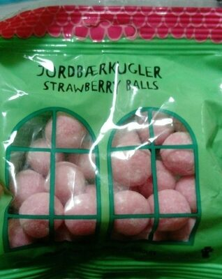 Strawberry balls