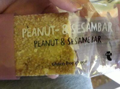 Peanut-&sesambar