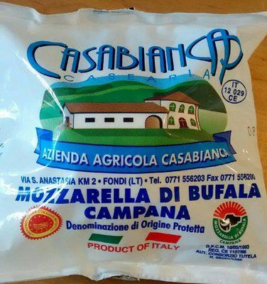 Mozzarella di buffala campana
