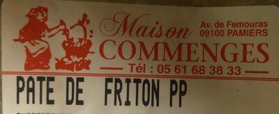 Pâté de friton pp