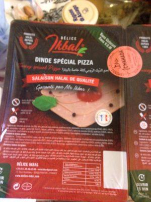 Dinde special pizza