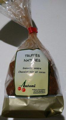 Truffes nature