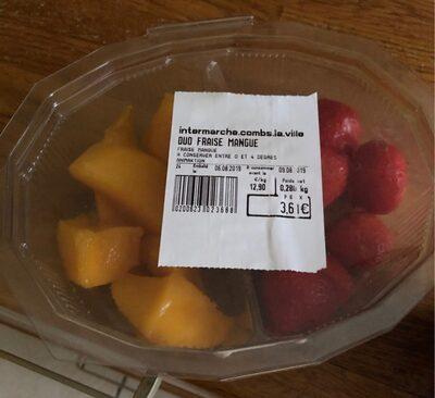 Duo fraise mangue