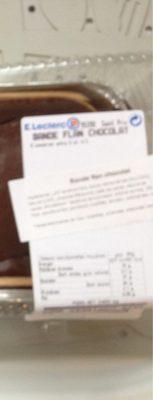 Bande flan chocolat