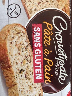 Pate a pain sans gluten