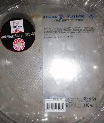 Croissant Bridor Leclerc