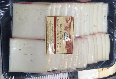 Raclette au lait cru fabriquée en France