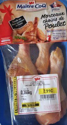 Morceaux choisis de poulet