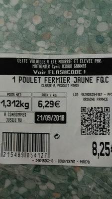 poulet fermier d Auvergne