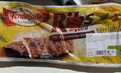 Ribs de veau Marinade barbecue