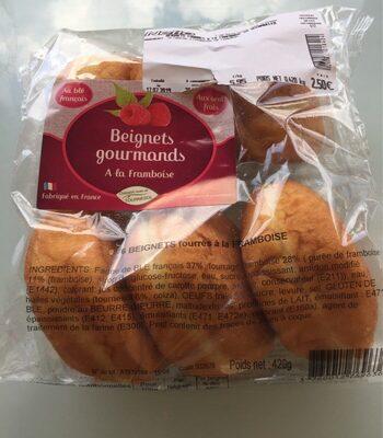 Beignets gourmands a la framboise