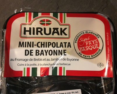 Mini chipolata de Bayonne