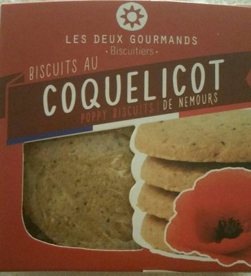 Biscuits au coquelicot