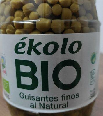 Ekolo BIO guisantes finos al natural