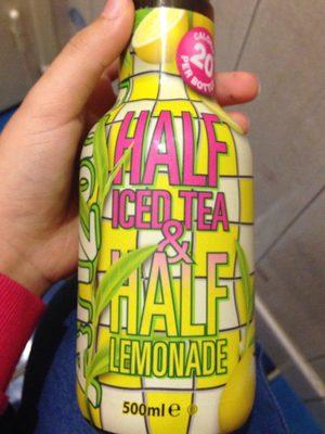 Half Iced Tea & Half Lemonade