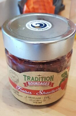 Confiture tradition bourdages