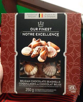 Chocolat belge (coquillages)