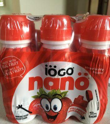 Nano Drinkable Yogurt - Strawberry