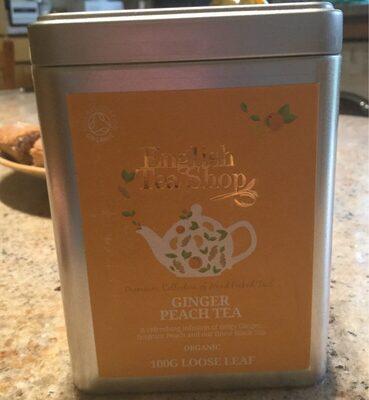 Ginger peach tea