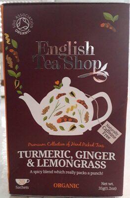 English Tea Shop, turmeric, ginger & lemongrass