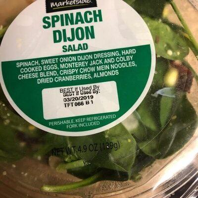 Spinach dijon salad