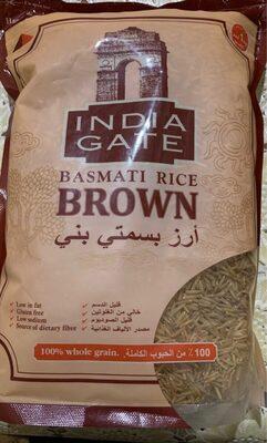Basmati rice brown