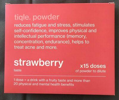Tiqle sticks boisson goût fraise