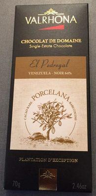 Valrhona El Pedregal Porcelana Dark Chocolate Bar