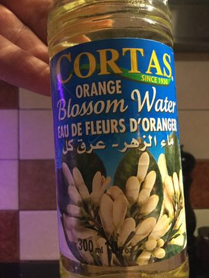 Cortas, Orange Blossom Water