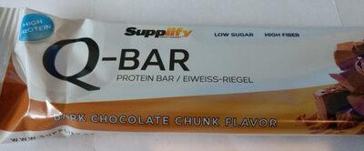 Q-Bar Dark Chocolate Chunk