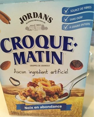 Céréales Croque-matin (noix)