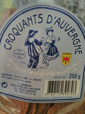 Croquants d'Auvergne