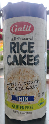 Rice Cakes with a touch of sea salt
