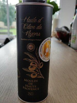 Huile d'olive des Nyons